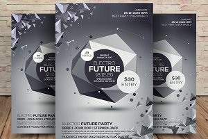 Electro Event Party Flyer