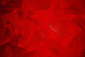 canvas with red paint texture, abstr