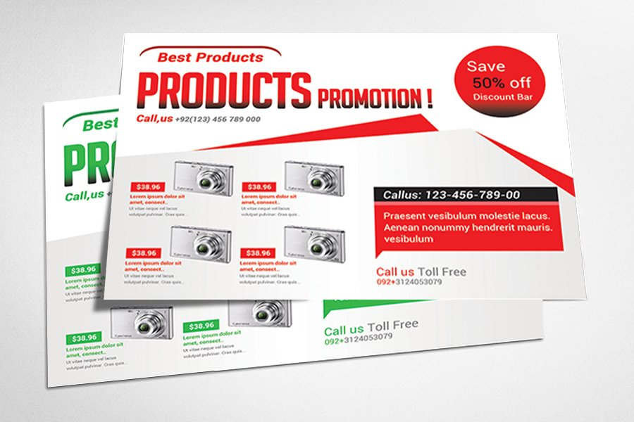 product promotion flyer templates by afzaalgraphics in templates flyers add to project download previous