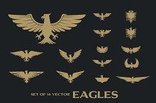 14 Vector Eagles