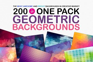 200 BACKGROUNDS IN ONE PACK