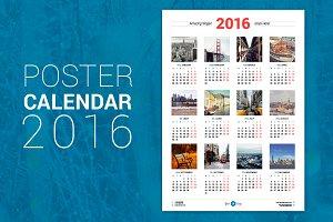 Poster Calendar 2016