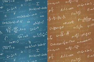 Maths and Physics Equations Patterns