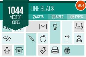 1000+ Line Icons (V1)