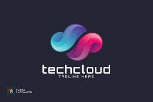 Techcloud - Logo Template