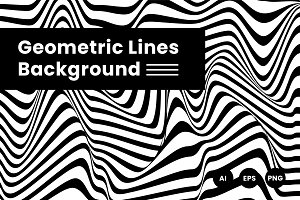 Geometric Lines Background