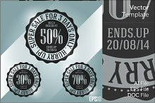 Business Discount Vector Stamp