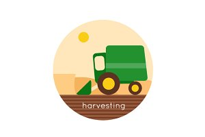 Farm. Harvesting, agriculture.