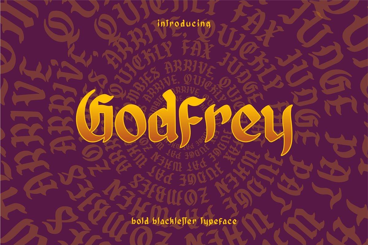 Godfrey Bold Blackletter