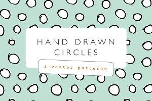 Hand Drawn Circles Pattern