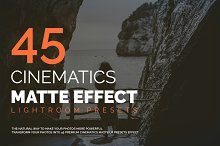 45 Cinematics Matte Effect LR Preset
