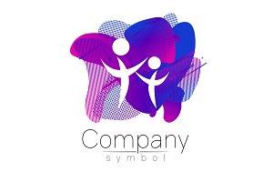 Modern head logo of Company Brand