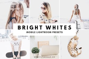 Bright White Lightroom Preset Mobile