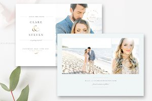 Save the Date Card With Pictures