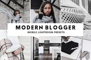 Modern Blogger Lightroom Presets IG