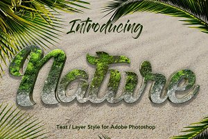 10 Nature Layer Style for Photoshop