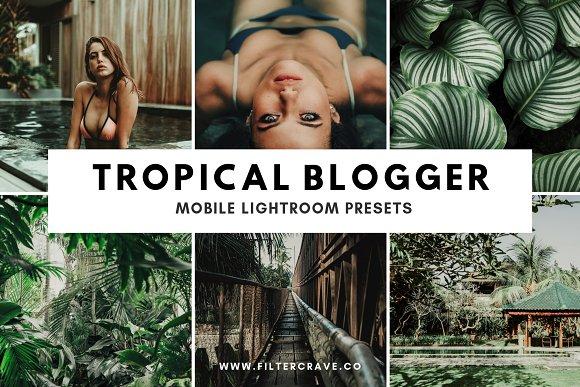Tropical Lightroom Presets Instagram