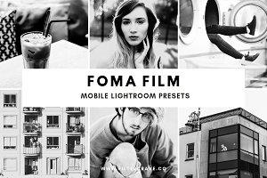 Foma Film Lightroom Presets Theme