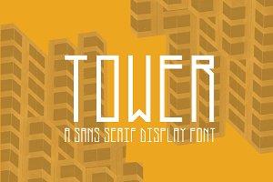 Tower - Modern Sans Serif