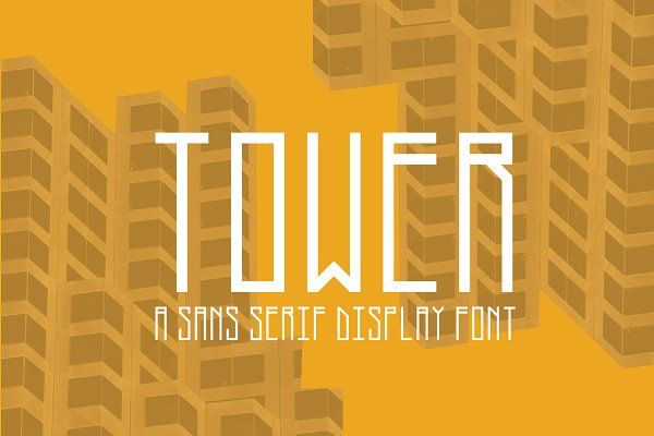 Fonts: David Alan Graphics - Tower - Modern Sans Serif