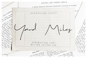 Yard Miles script