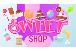 Sweet Shop Poster