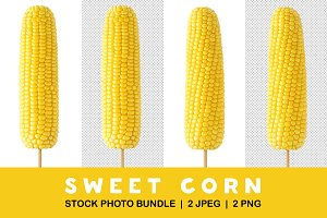 Isolated corns on stick