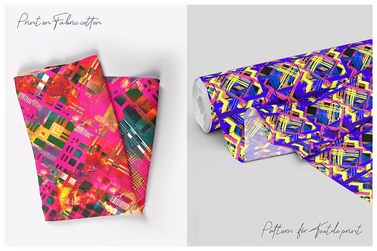精选免费超级时尚的抽象丙烯酸油漆背景纹理 Abstract Prints插图(2)