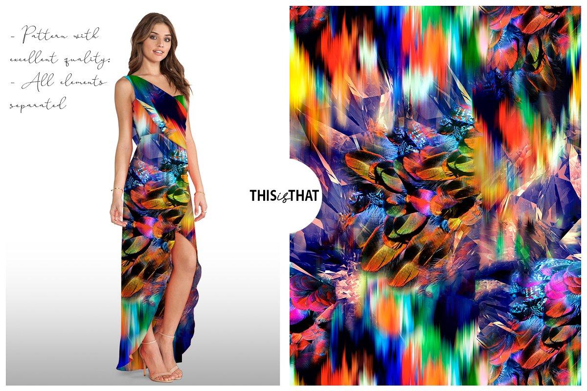 精选免费超级时尚的抽象丙烯酸油漆背景纹理 Abstract Prints插图(7)