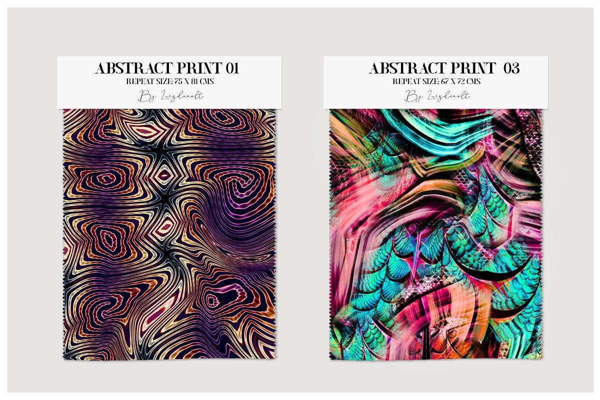 精选免费超级时尚的抽象丙烯酸油漆背景纹理 Abstract Prints插图(9)