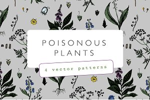 Poisonous Plants Pattern