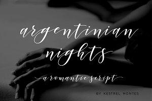Argentinian Nights modern script
