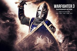 Warfighter 3 Photoshop Action