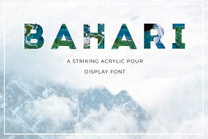 BAHARI Display Font