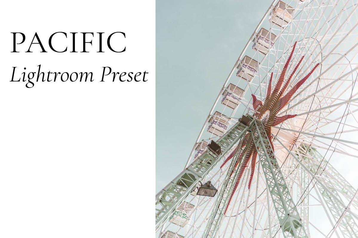 Lightroom Preset - Pacific