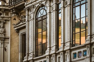 Neoclassical arquitectural elements