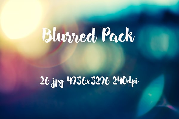 Graphics: ApertureVintage - Blurred Pack