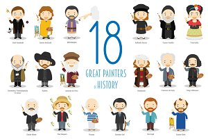 18 Great Painters of History