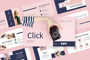 Click - Fashion Powerpoint