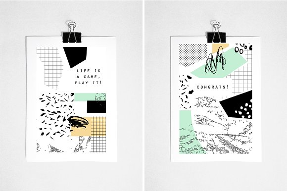 Graphical mood. EPS & JPEG - Illustrations