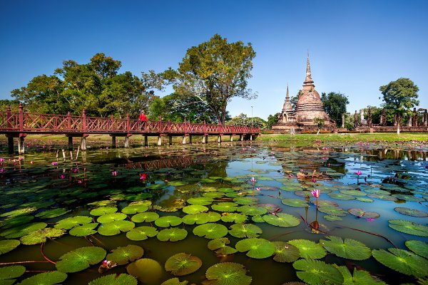 Stock Photos: Pikoso Photography - Beautiful view of East Asia Temple