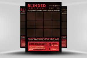Blinded Indie Poster Template
