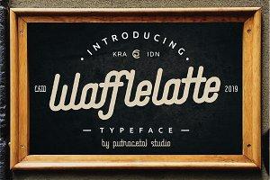 Waffle Latte