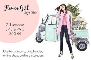 Flower Girl - Light Skin