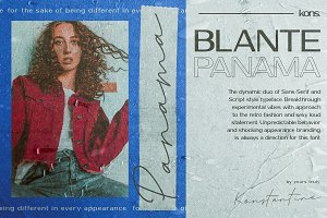 BLANTE PANAMA - Duo Fonts