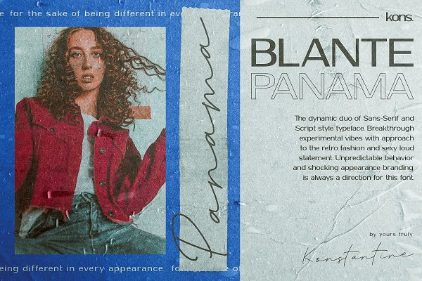 BLANTE PANAMA - Duo Fonts
