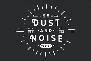 25 Dust and Noise Vector Textures V2
