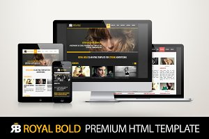 Royal Bold - Premium HTML template