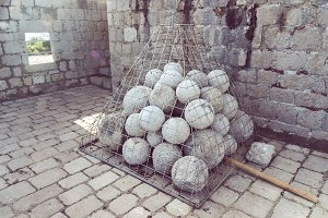 Cannonballs in Fortress