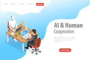 Robot and human cooperation